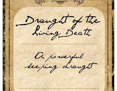 how to make the draught of living death