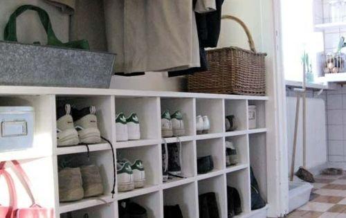 flurgestaltung 40 schlaue und platzsparende l sungen f r. Black Bedroom Furniture Sets. Home Design Ideas