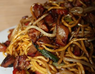 bbq pork chow mein recipe by dish ditty recipes i just love bbq pork chow mein and it. Black Bedroom Furniture Sets. Home Design Ideas
