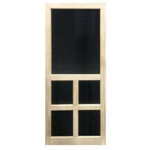 Kimberly Bay 35 75 In X 79 75 In Victoria Stainable Screen Door