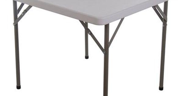 Homcom 02 0005 34 In Square Multipurpose Plastic Folding Table 55 Atgstores Com Folding Table Cheap Living Room Sets Table