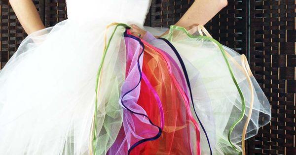 multilayered tulle petticoat tutorial