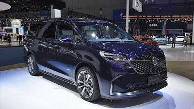 Buick Gl8 Avenir V 2020 G Miniven Arsenal Dizajn Eksterera