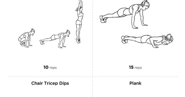 tone and strengther your arms with this arms circuit
