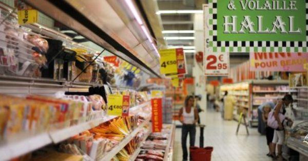 Lebensmittel Fur Muslime Mit Allah An Der Fleischtheke Spiegel Online Halal Recipes French Supermarkets Halal