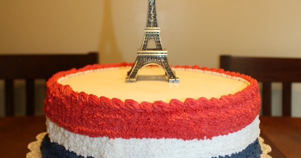 DIY French Birthday Cake - I made this cake for my ...