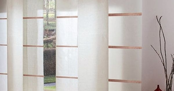 Separation De Pieces Store Japonais Rideau Japonais Panneau Japonais