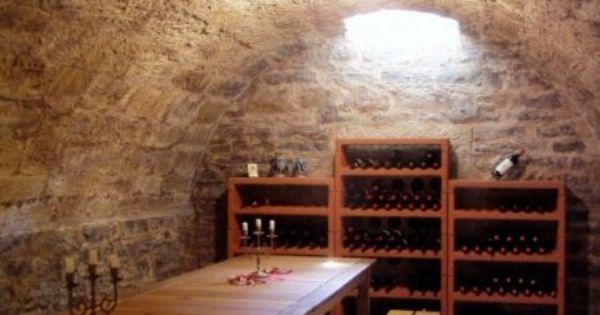 Casier A Bouteilles Armoire A Vin Cave Voutee Enterree Tonnelet