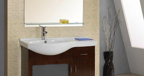Sink Overhangs The Front Of The Vanity Bathroom Vanities
