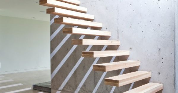 I want a beach house with stairs like this.