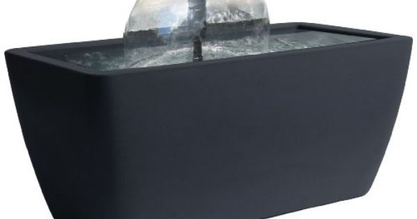 Algreen Manhattan Contemporary Slate Water Feature And Pond 50 Gallon By Algreen 135 27 2 Year Limited Manufac Pond Water Features Pond Kits Water Features