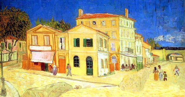 La maison jaune la maison de vincent septembre 1888 van gogh pinterest vincent van gogh for La chambre jaune a arles van gogh