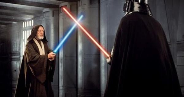 Star Wars A New Hope Ben Kenobi Vs Darth Vader Hd Youtube Star Wars Light Saber Star Wars Movie Star Wars 1977