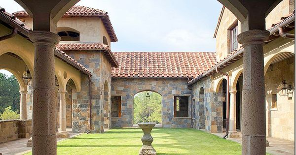 Architecture By Kevin Harris Via Cotedetexas Blogspot Tuscan Architecture Pinterest