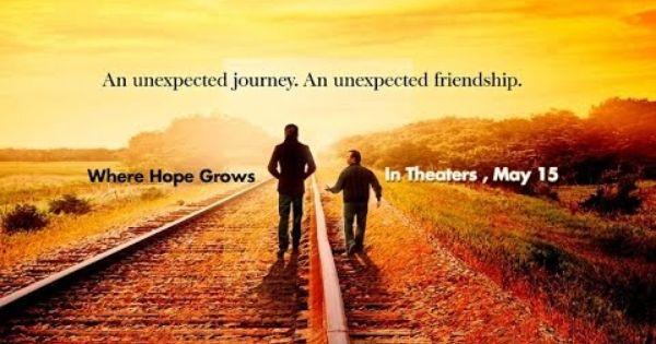 Where Hope Grows Christian Movie Trailer Hd 2015 Inspirational Movies Christian Movies An Unexpected Journey