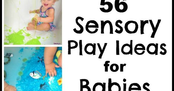 Baby Sensory Activities. FUN ideas!