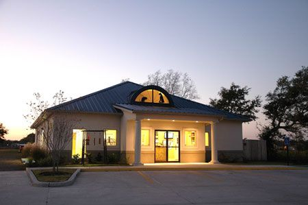 Veterinary Design On A Dime: A Blue Roof And An Eyebrow
