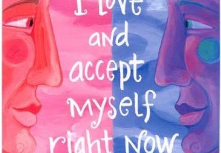 """I love and accept myself right now."" Wisdom Cards - Affirmations -"