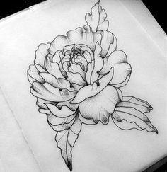 Image Result For Carnation Flower Tattoo Black And White Carnation Flower Tattoo Tattoos Carnation Tattoo