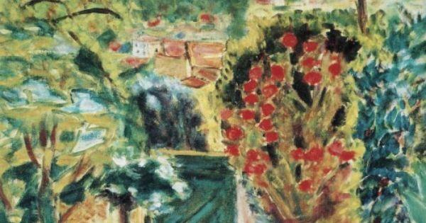 Pierre Bonnard 1943 Vers La Porte De La Villa Le