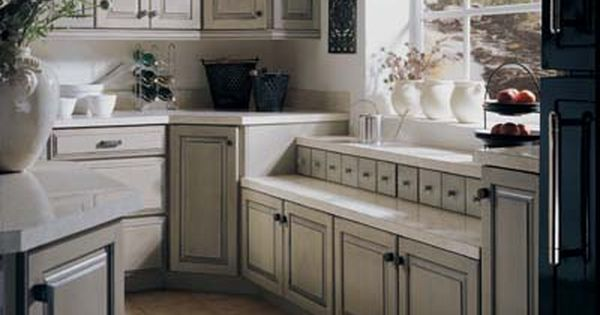 White Cabinets With Pewter Glaze Google Search Home