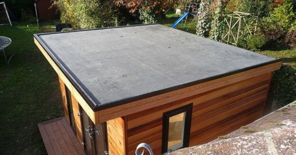 Epdm Roofing On Garden Offices Google Search Epdm Roofing Membrane Roof Plastic Roofing