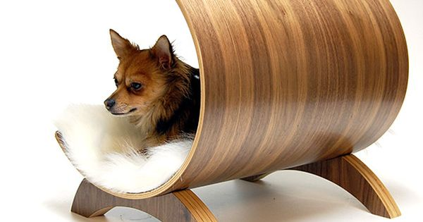 Dog pod lounge - a dog bed for the modern home!