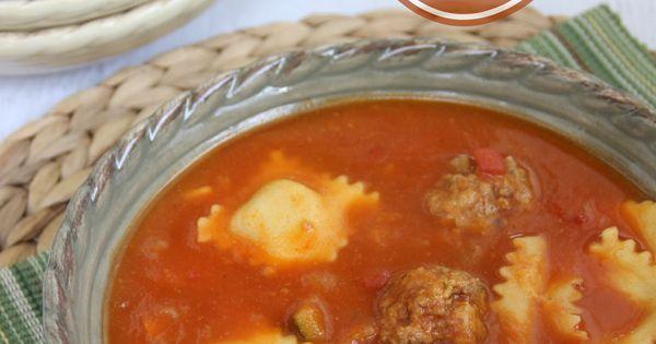 Mini meatballs, Ravioli and Cheese ravioli on Pinterest