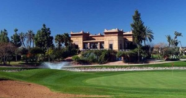 Golf Course Amelkis Golf In Marrakech Morocco From Golf Escapes