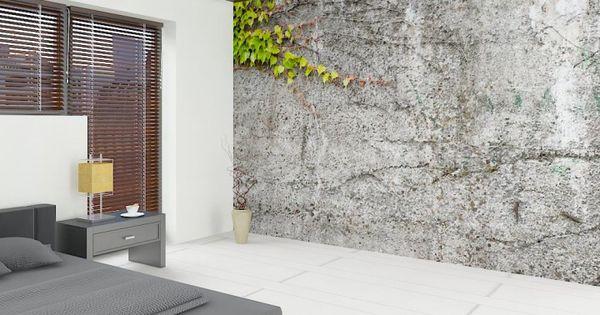 Fototapete Nr 3068 - Vintage Beton I ++ Wall Decoration - schöner wohnen tapeten wohnzimmer