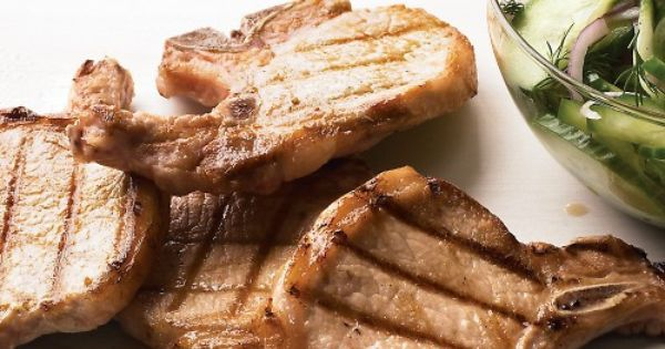 Grilled pork chops, Grilled pork and Pork chops on Pinterest