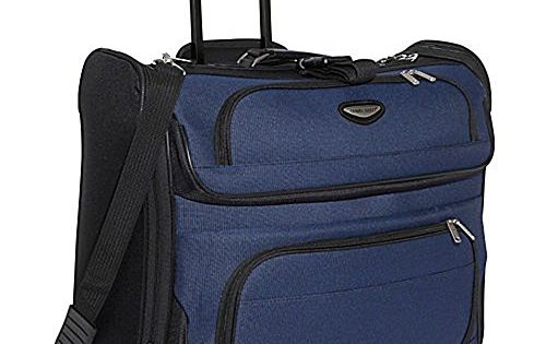 Travel Select Luggage Amsterdam Business Rolling Garment Bag Navy   You can  find more details by visiting the image link. ddb856825b
