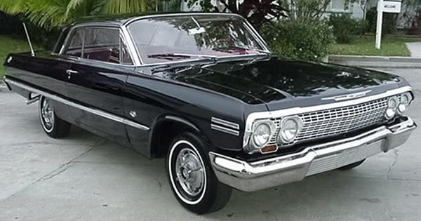 Belair Auto Auction >> 1963 Chevy Impala SS | My type of Automobile | Pinterest | Chevy impala ss, Cars and Chevrolet