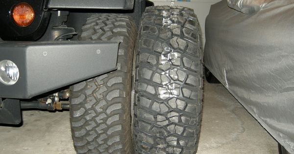 How Close In Size Are Bfg Km2 S 285 70r17 To Stock Rubi 32 S Jeep Jk Jeep Jeep Wrangler