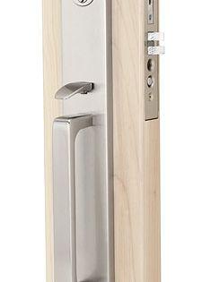 Emtek Lugano Mortise Entrance Handleset Emtek Front Door Hardware Door Handles