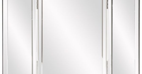 Howard Elliott Tripoli Trifold Vanity Mirror & Reviews ...