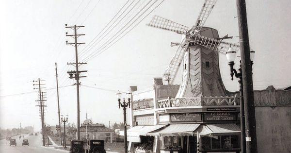 Van De Kamp S Bakery Corner Of West Pico Blvd And Pelham Ave Los