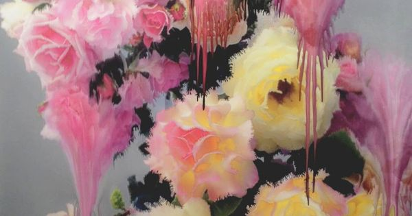 Flora, by Nick Knight art painting by margo