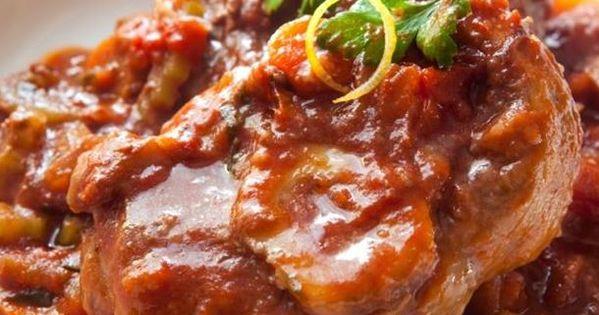 Osso bucco de dinde recette cuisiner viande et volaille - Cuisiner osso bucco de dinde ...