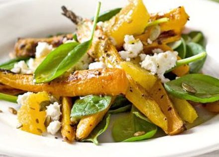 Feta salad, Feta and Carrots on Pinterest