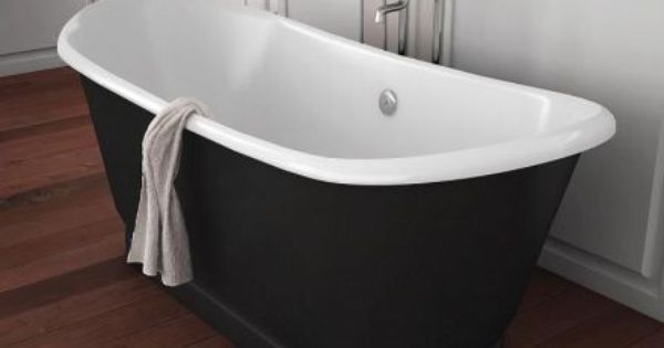 baignoire lot en fente noir et blanc un mod le r tro tr s chic adaptable pour salle de bain ou. Black Bedroom Furniture Sets. Home Design Ideas