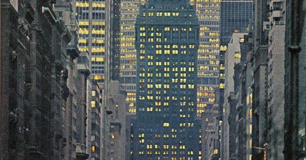 Park Avenue. NYC, 1964. PANAM!