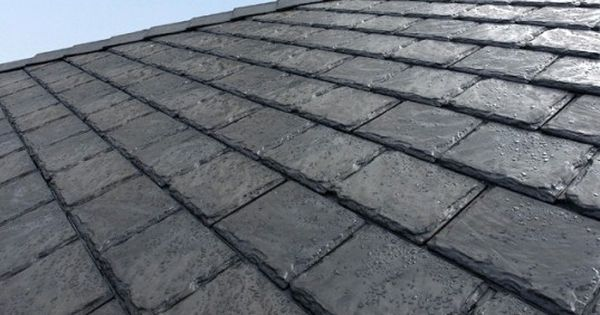 Upcycled Roof Shingles Made Of Old Tires Recycled