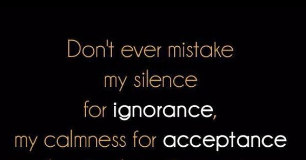 This Is So True For Me. Just Because Im Quiet, Doesnt Mean