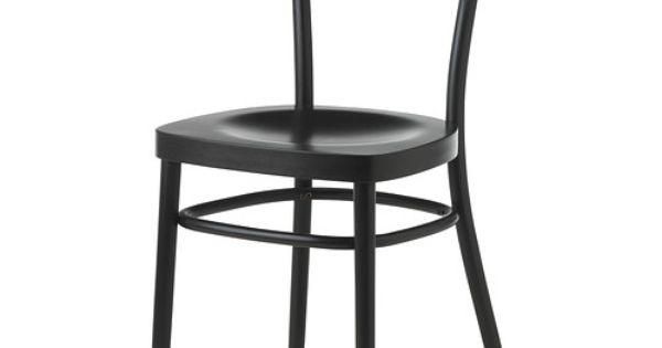 idolf stol svart ikea och svart. Black Bedroom Furniture Sets. Home Design Ideas