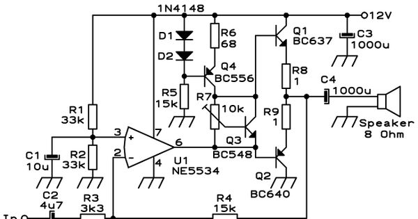 small audio amplifiers using lm386 and ne5534