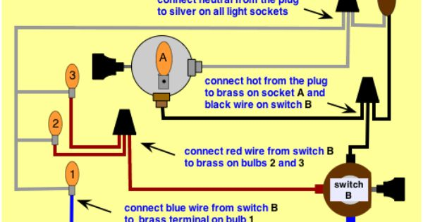 Wiring A Floor Lamp Switch Lamp Switch Diy Floor Lamp Lamp Socket