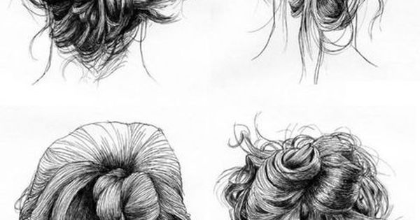 Drawing Hair Style Pinterest Updo My Hair And