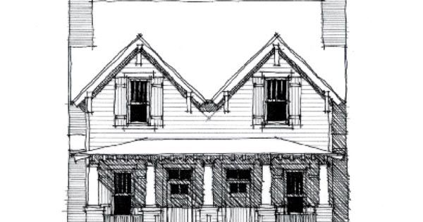 Country Historic Multi-Family Plan 73839