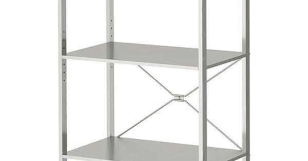 Ikea estanterias acero inoxidable